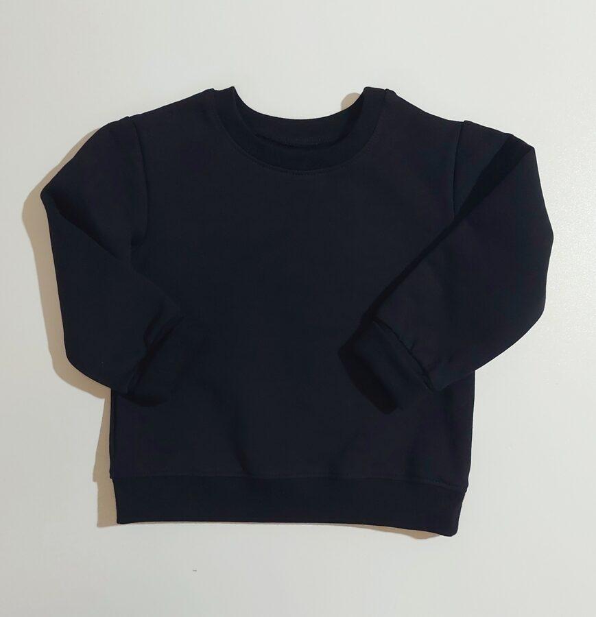 Džemperis melns (62-134 izm.)
